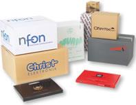 Caisses carton personnalisées