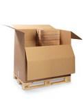 Palettencontainer, 2- und 3-wellig