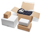 Caisses carton, boîtes