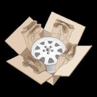 Boxinhalt polstern
