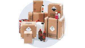 1. Schritt: Umverpackung auswählen