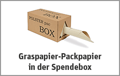 Graspapier Abrollbox