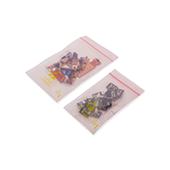 Ableitfähiger, antistatischer Druckverschluss- beutel, 60/100 µ