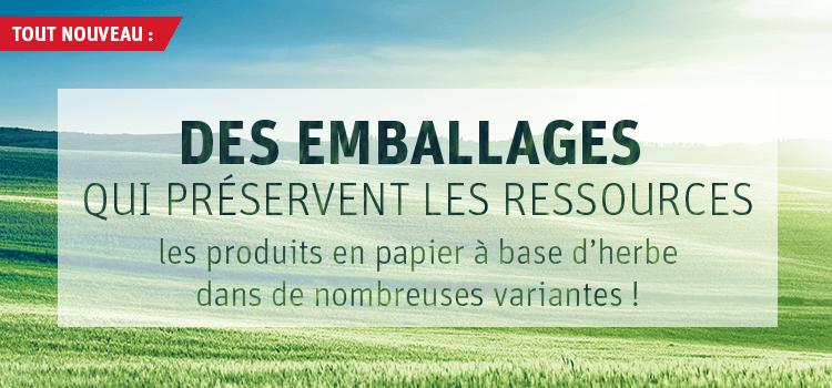 Graspapier - innovatives, nachhaltiges und schnell nachwachsendes Verpackungsmaterial
