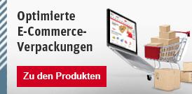 Optimierte E-Commerce-Verpackungen