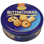Biscuits danois au beurre (Danish butter cookies)