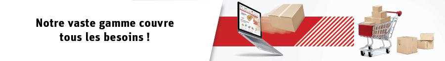 Passez la vitesse supérieure avec nos emballages pour le commerce en ligne !