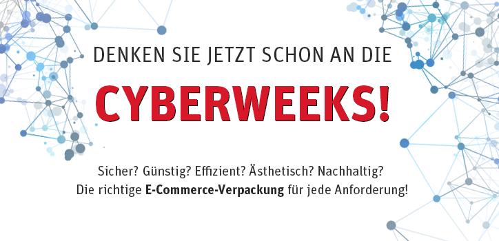 Denken Sie jetzt schon an die Cyberweeks!