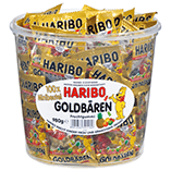 Bonbons L'ours d'or Haribo en sachets individuels