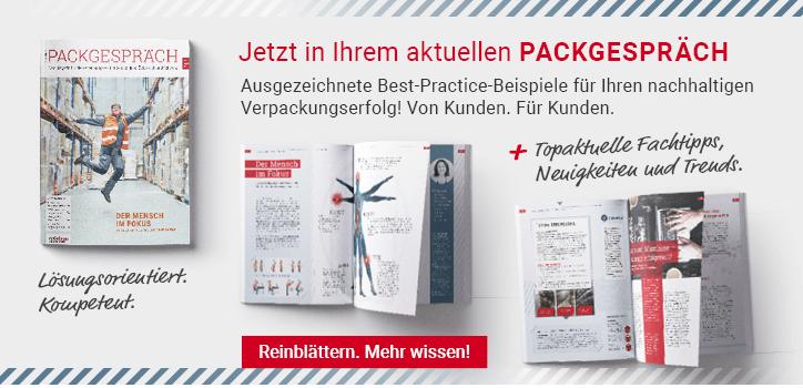 Das neue Packgespräch 01/2021 ist da!